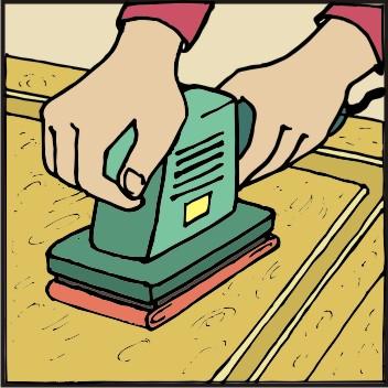 TOPDOM Barvanje lesenih vrat 01