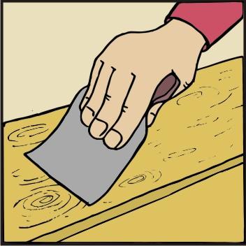 TOPDOM Barvanje lesenih vrat 02