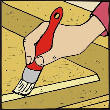 TOPDOM Barvanje lesenih vrat 03