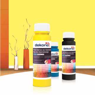 TOPDOM Polne barve za niansiranje Dekoria