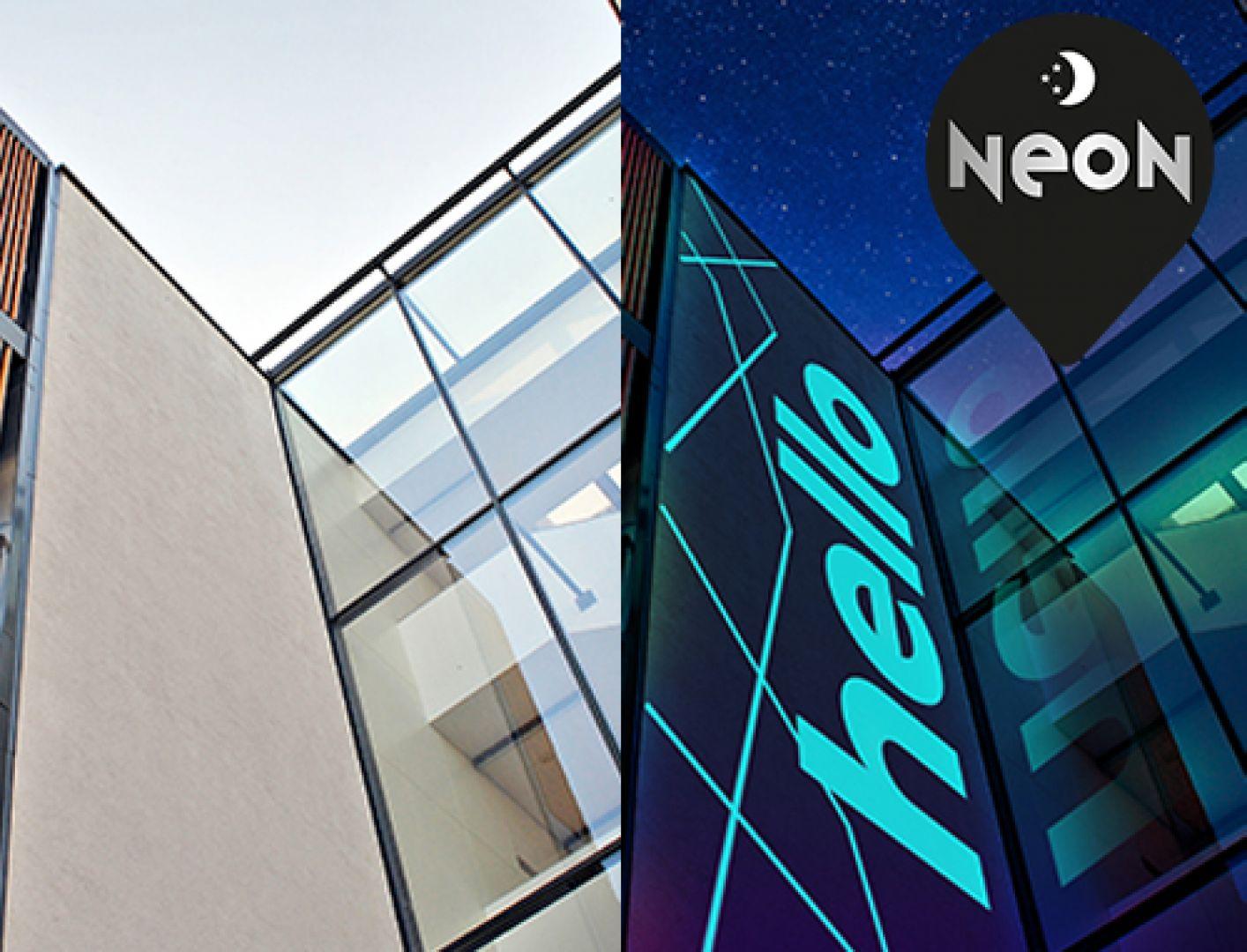 TOPDOM weber NEON ponoci sijoca fasada
